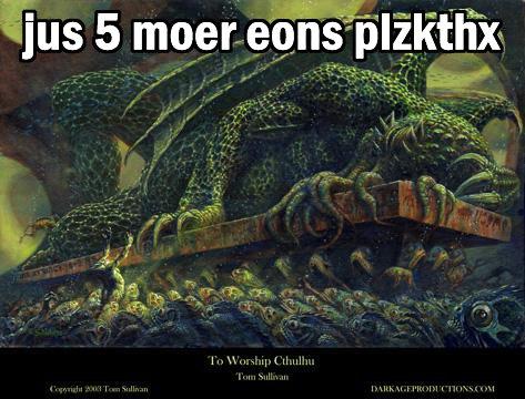 JUS 5 MOER EONS PLZKTHX