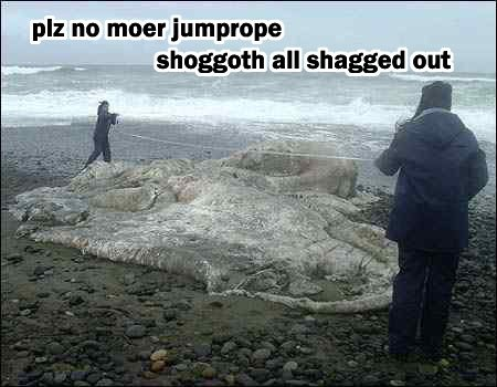 PLZ NO MOER JUMPROPE - SHOGGOTH ALL SHAGGED OUT