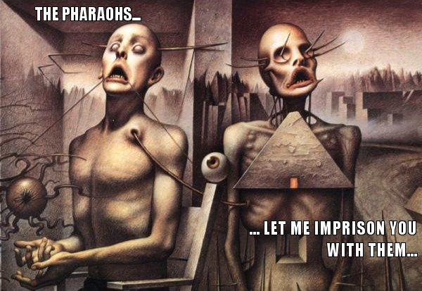 THE PHARAOHS - LET ME IMPRISON YOU WITH THEM