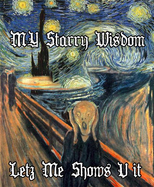 MY STARRY WISDOM - LETZ ME SHOWS U IT